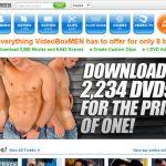 Video Box Men Passcode