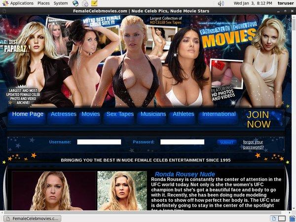 Femalecelebmovies.com Yearly Membership