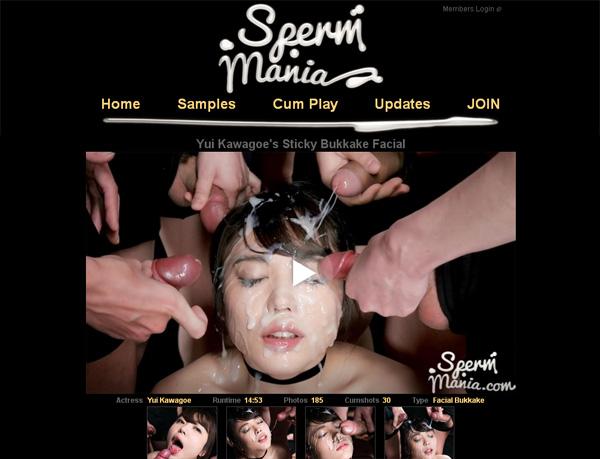 Spermmania.com Wachtwoord