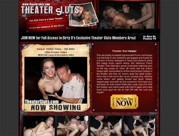 Theatersluts Special Price